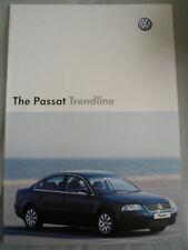 VW Passat Trendline brochure Jul 2004