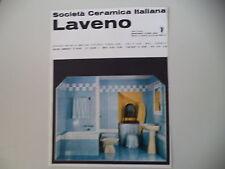 advertising Pubblicità 1963 CERAMICA ITALIANA LAVENO