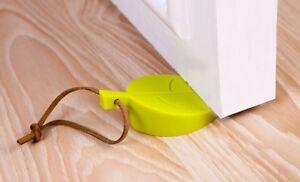3pcs Door Stopper Kid Baby Finger Safety Gate Silicon Gel Leaf shape Blocker