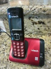VTech Model CS6719-16  6.0, Red Phone - 1 Cordless Handset