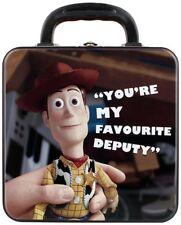 "Toy Story Tin Tote niños Lunch Box-Woody ""Tú eres mi favorita adjunto"" Cuadrado"