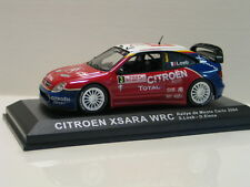 Voiture miniature CITROEN XSARA WRC RALLYE DE MONTE CARLO 2004 Rouge 1:43