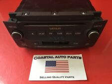 2008-2009 Lexus AM/FM Radio CD Player Aux OEM 86120-30F90-E0-1 #E88