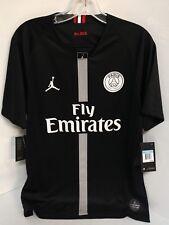 PSG NIKE JORDAN PARIS SAINT-GERMAIN Black JERSEY SHIRT TOP 919010-012 XXLarge