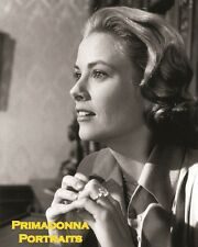 GRACE KELLY 8X10 Lab Photo Portrait 1960s PRINCESS of MONACO ENGAGEMENT RING