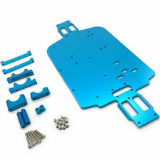 Upgrade Metal Chassis Kit for Wltoys 1/18 A949 A959-B A969 A979 K929 RC Car Blue