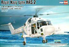 Hobbyboss 1:72 Royal Navy Lynx HAS.2 Helicopter Model Kit