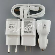 Original Rapid Dual Car Wall Charger Adapter USB Cable For LG G3 G4 V10 Nexus 5
