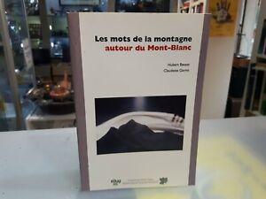 [NC] LES MOTS DE LA MONTAGNEHUBERT BESSAT – CLAUDETTE GERMIDUMAS1991FRA274