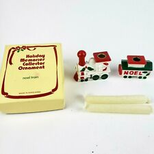 Noel Train · Candle Holders & Candles · Holiday Memories Collector Ornament
