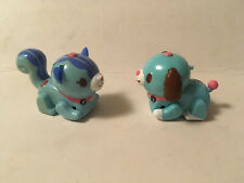 Tomy Micropets Cyber Pets Biege Dog Puppy Interactive Electronic Toy Figure