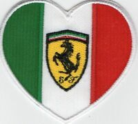 COLLECTION FERRARI HEART PATCH THERMOADESIVE