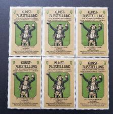 Cinderella Poster Stamp Kunst-Ausstellung Der Schwarzwaldmaler Gutach (7652)