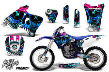 Yamaha YZ 250/400/426 Dirt Bike Graphic Sticker Kit Decal Wrap MX 98-02 FRENZY