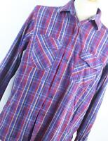 James Pringle Red Check Cotton Mens Casual Shirt Size L
