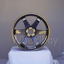 4 ROTA WHEEL GRID  18X9.5  5X114.3 33 73  HYPBK  STI  2015, 2016, 2018 LAST SET