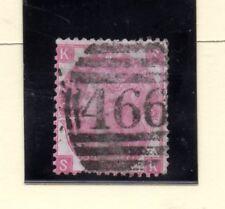 Gran Bretaña Valor nº 33 plancha 5 año 1867-69 (BE-827)