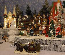 Christmas Snow Village Display Platform Base Dept 56 Lemax St. Nicholas Square