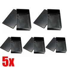 5Pcs 100x60x25mm Plastic Electronic Project Box Enclosure DIY Instrument Case