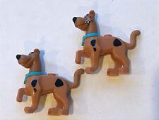 Lego Scooby-Doo Lot Of 2 - Great Dane Dog Minifigure 75902 Chattering Teeth