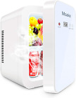 Mini Fridge, 10 Liter/8 Can Compact Refrigerator Cooler and Warmer Thermoelectri photo