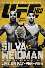 UFC 162 Anderson Silva vs Chris Weidman Sports Poster 12x18