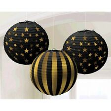 HOLLYWOOD Glitz and Glam PAPER LANTERNS (3) ~ Birthday Party Supplies Decoration