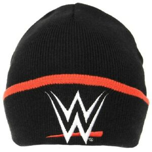 WWE - Adults One size Black Beanie
