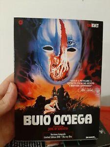 Buio Omega  BLU-RAY + DVD Limited Edition