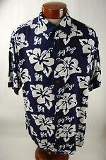 Big Dogs Men's Button Up Hawaiian Shirt  - Men's XL