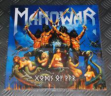 Manowar 'Gods Of War' 1st Press EU '07 Original 3 X Vinyl GF-LP Set New/Sealed