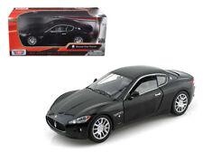 1:24 scale Maserati Gran Turismo (Black) Diecast Model Car by Motor Max