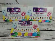 Brach's Scrambled Tiny Jelly Beans 24 Flavors 3oz box LOT of 3 To/From Box 1712