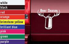 Beer Season Hunting Vinyl Sticker Decal Car-Truck Laptop-Netbook 1470
