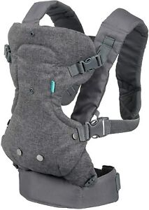 Infantino Flip Carrier 4 in 1 Advanced Convertible Sling Face In Face Out Denim