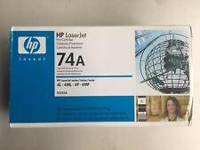 HP Laser jet 74A Black Toner Brand New Sealed