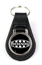 Triumph Bond Equipe Original Logo Quality Black Leather Keyring