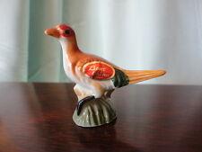Pheasant Figurine Miniature Bone China Vintage