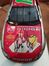 Jeremy Mayfield Signed #19 Dodge/Muppets 2002 Intrepid R/T 1/24 NASCAR DIECAST