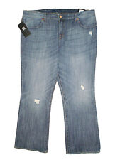 Rock & Republic Kasandra Bootcut Mid Stretch Denim Blue Jeans Size 20W x 32 New