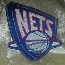 "Brooklyn Nets  NBA 3.5"" Iron On Embroidered Patch~USA~FREE Ship"
