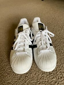 ADIDAS MENS Shoes Superstar - White & Black US 10