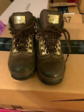 Toddler Timberland Boys Boots Euro Hiker Brown Size 11c