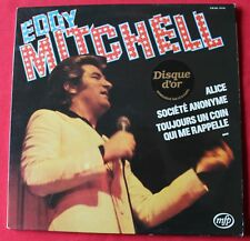 Eddy Mitchell, Alice - disque d'or, LP - 33 Tours
