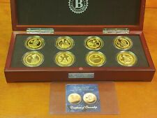 JFK 100th Anniversary Proof 8-Coin Collection Bradford Exchange With COA