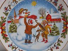 Vintage 1977 Albert Vasils Christmas Time Plate Iimited Edition 1218/5000