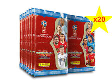 Panini 2018 FIFA Russia World Cup Trading Cards ADRENALYN XL Sealed Packs x 20