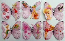 Disney Tinkerbell 3D Butterfly wall stickers, by flutterframes