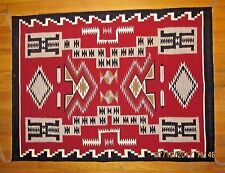 Navajo Rug - 39.5 inches x 29 inches - Storm Pattern - handmade in Arizona (#60)