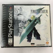 Final Fantasy VII 7 (Sony PlayStation 1 PS1 1997) Black Label CIB Complete Works